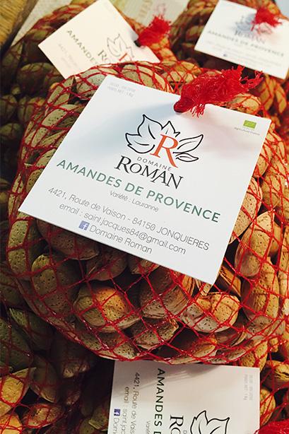Amandes en coques de Provence