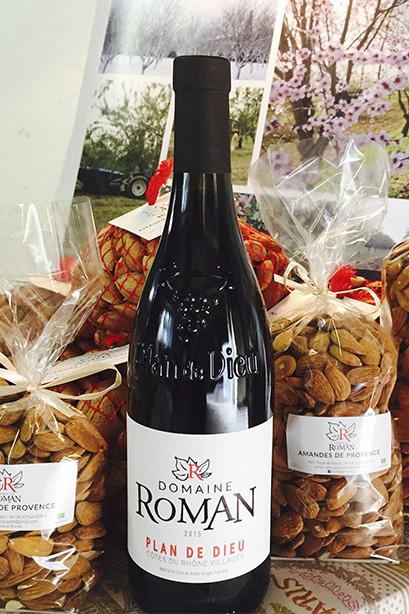 Découvrez nos produits viticoles et amandes