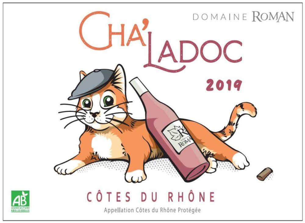 Cha'Ladoc, le rosé du chat et du caladoc !
