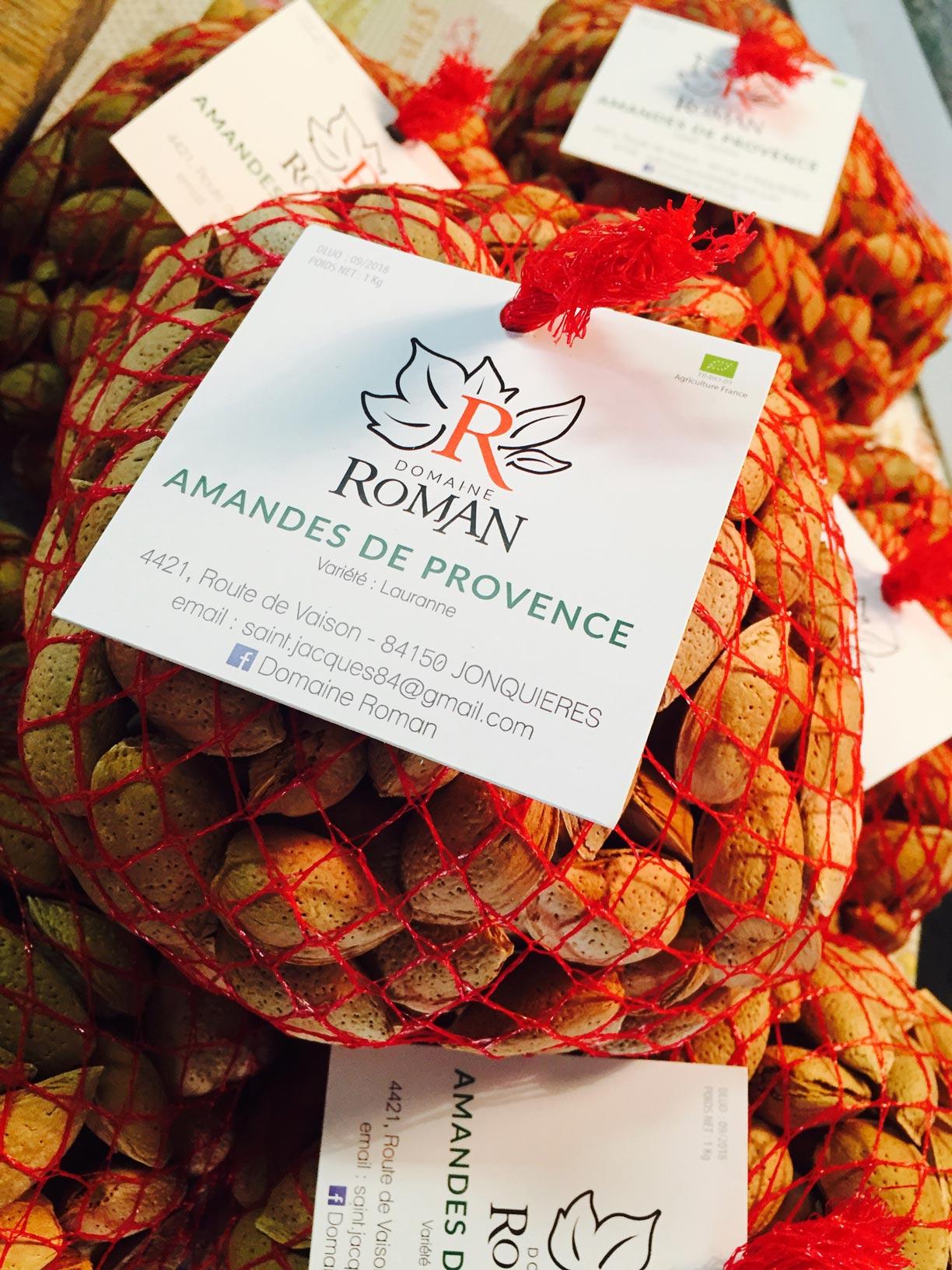 Nos amandes de Provence en coque