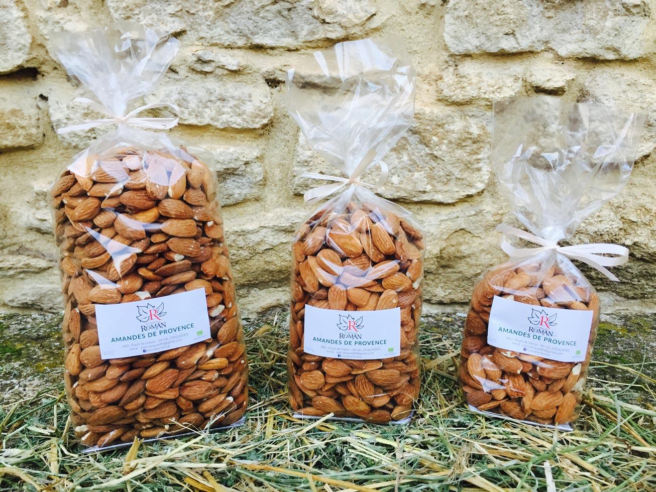 Nos amandes de Provence décortiquées